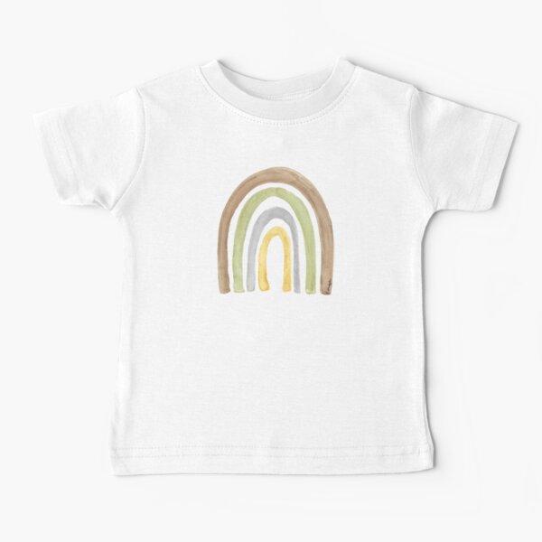 Watercolour Rainbow Tatra Cottage Baby T-Shirt