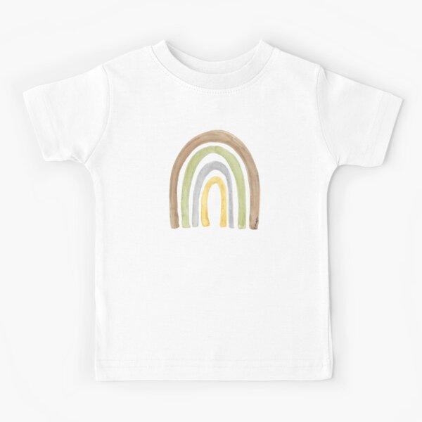 Watercolour Rainbow Tatra Cottage Kids T-Shirt