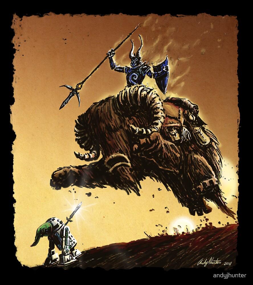 R2D2 vs Ganon by andyjhunter