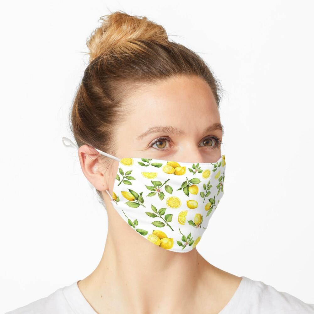 Summer Lemons Mask
