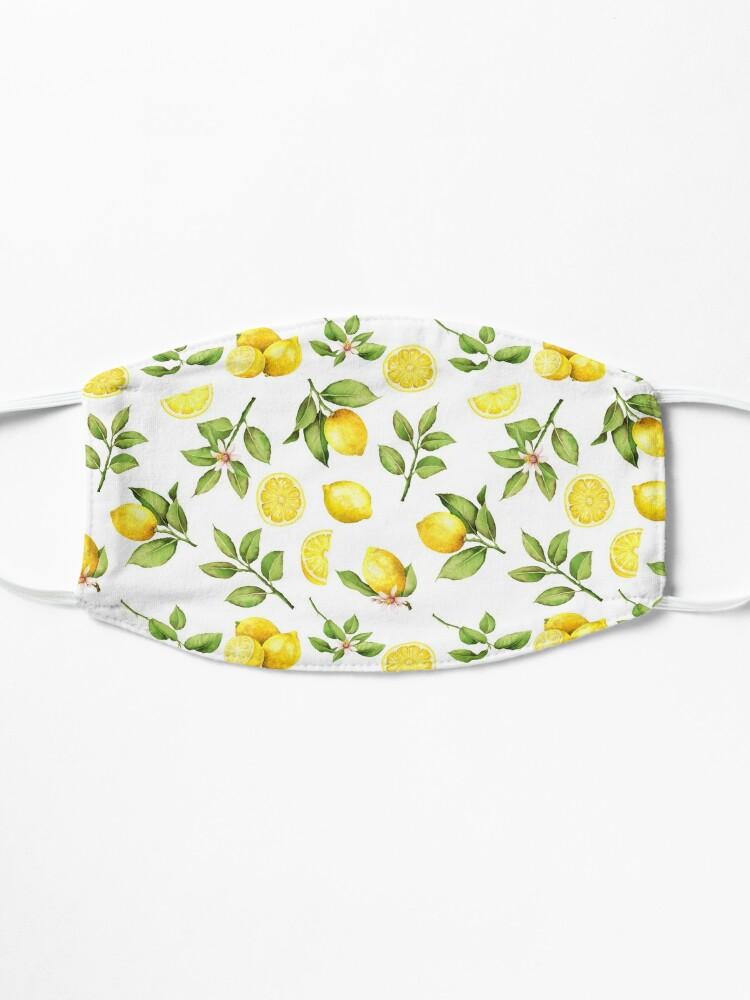 Alternate view of Summer Lemons Mask