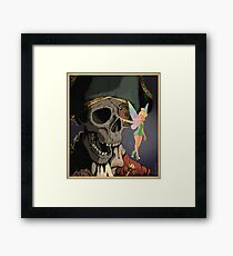 Tinkerbell and One Eyed Willy Framed Print
