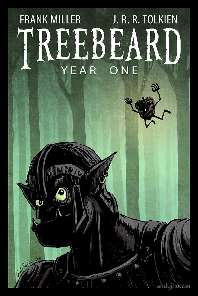 Treebeard - Year One by andyjhunter