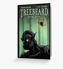 Treebeard - Year One Greeting Card
