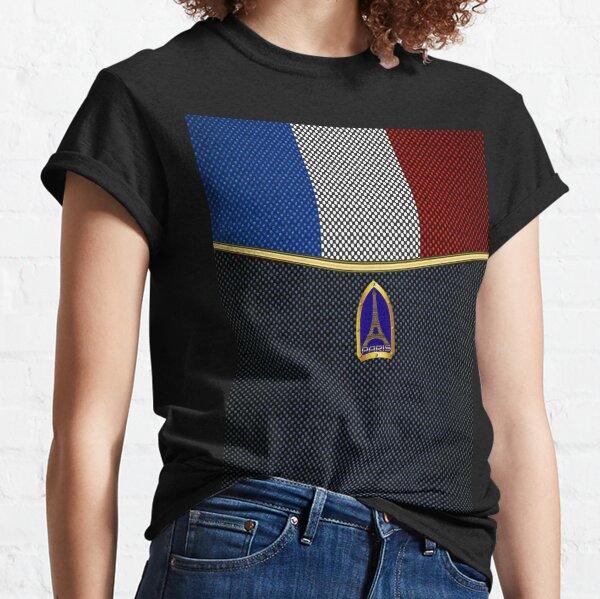 Eiffel Tower (Paris, France Flag) Classic T-Shirt