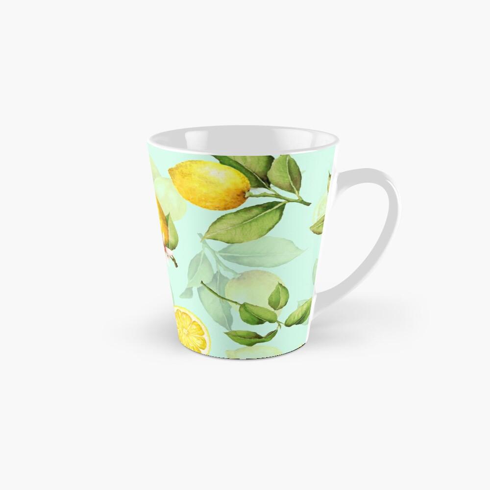 Summer Lemons turqouise Mug