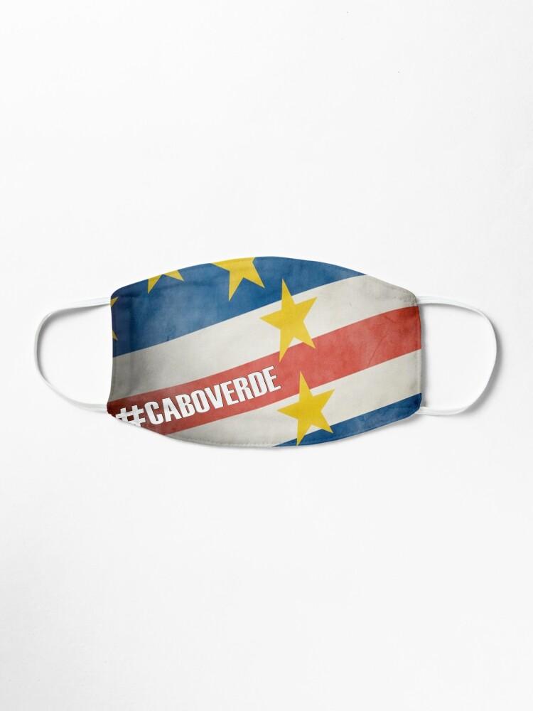 Masque ''#CABOVERDE': autre vue