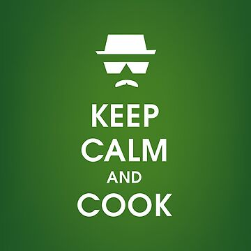 BREAKING BAD IPHONE CASE/ KEEP CALM AND COOK by Nativo