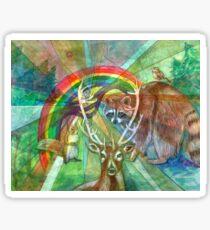 The Rainbow Cocoon Sticker