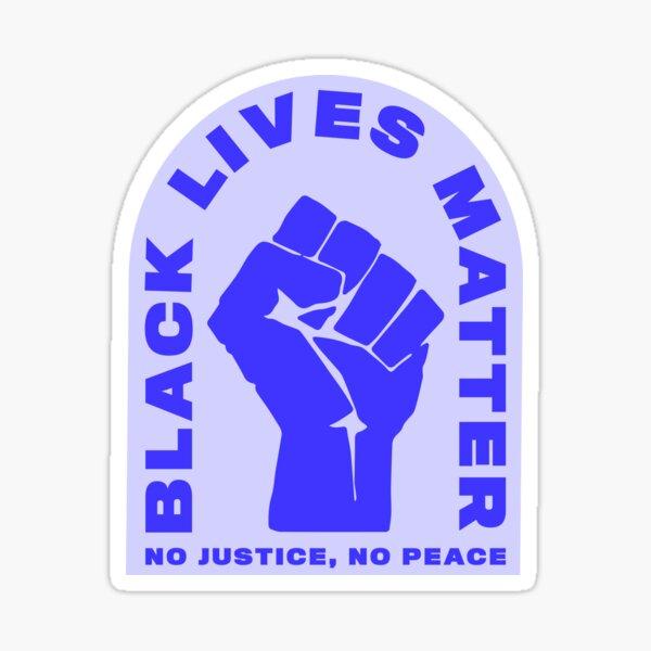 Black Lives Matter Black Power Sticker