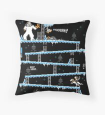 Donkey Hoth Throw Pillow