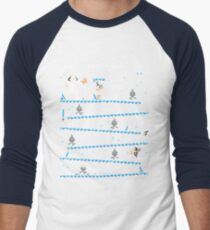 Donkey Hoth Men's Baseball ¾ T-Shirt