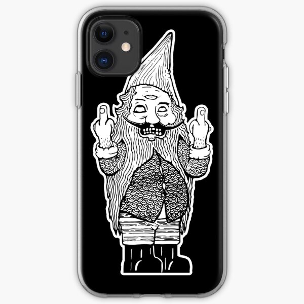 Gnome Regrets - Double Bird Third Eye iPhone Soft Case