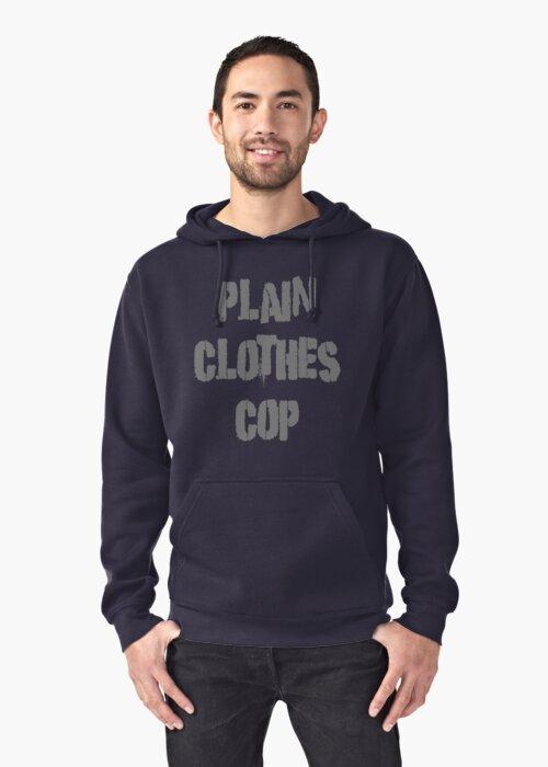 Plain Clothes Cop by David Ayala
