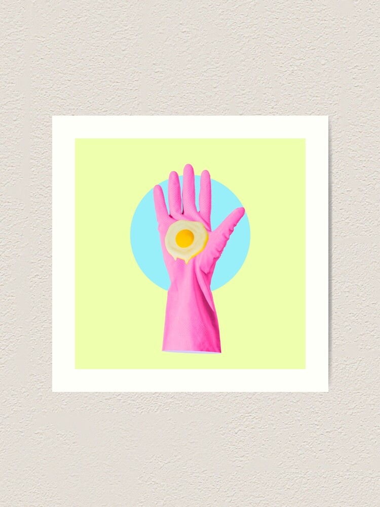 Alternate view of Hand and egg  Art Print
