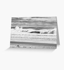 Noosa River Mouth Greeting Card