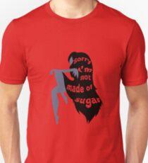 Camiseta ajustada No hecho de azúcar