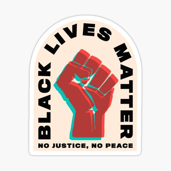 Black Lives Matter Poder negro Pegatina