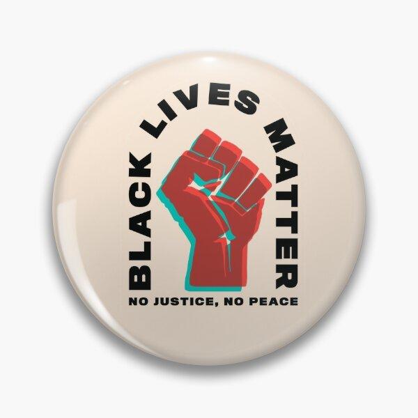 Black Lives Matter Black Power Pin
