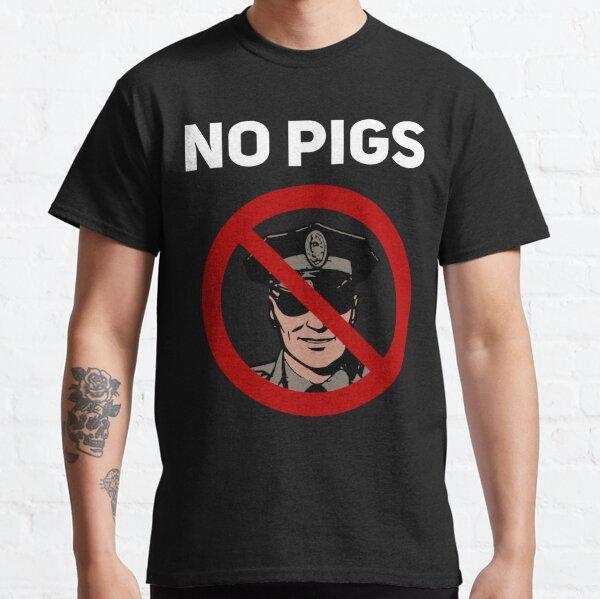 No Pigs BlackLivesMatter Police T-Shirt Camiseta clásica