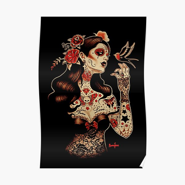 Day of the Dead Art, Day of the Dead Picture ,Dia De Los Muertos Poster