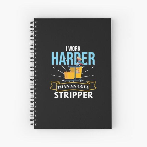 Housekeeping  Humor Cleaning,  Housekeeping Gift, Professional Cleaner  Spiral Notebook