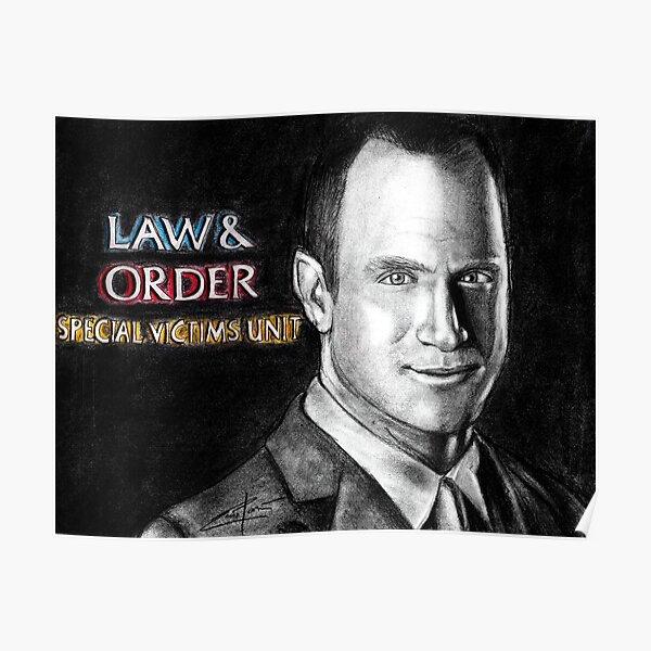 Elliot Stabler Law and Order SVU Poster