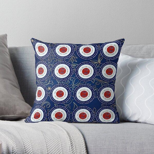 Mods Paisley Throw Pillow