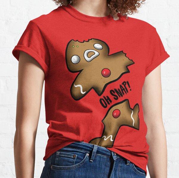 Creepies - Oh SNAP! Ginger Dead Man Classic T-Shirt