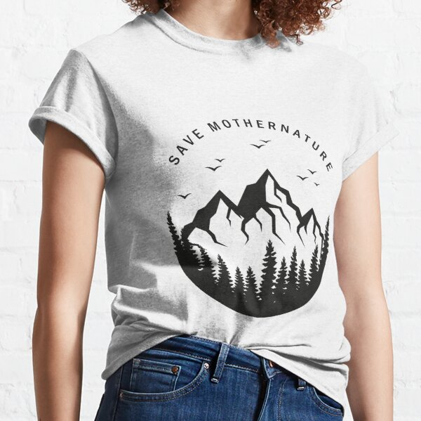 to be able to give something back to nature. Take care of yourself and your environment Classic T-Shirt