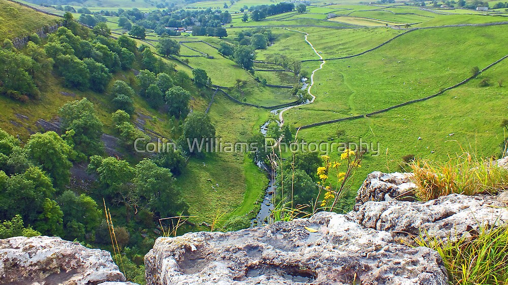 The Path To Malham Cove by Colin  Williams Photography