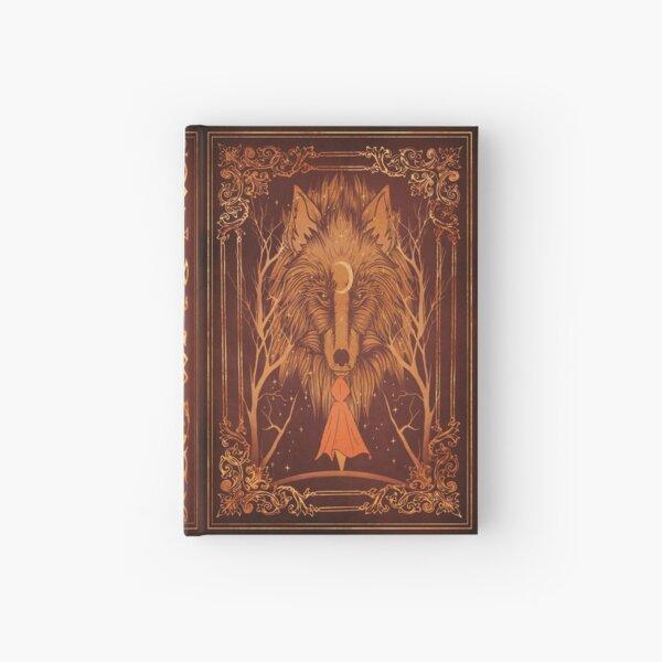 Magic Wolf Hardcover Journal