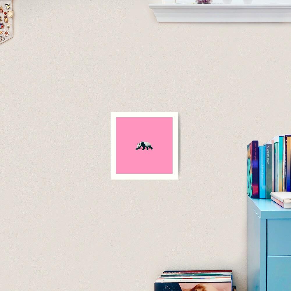 The Panda  Art Print
