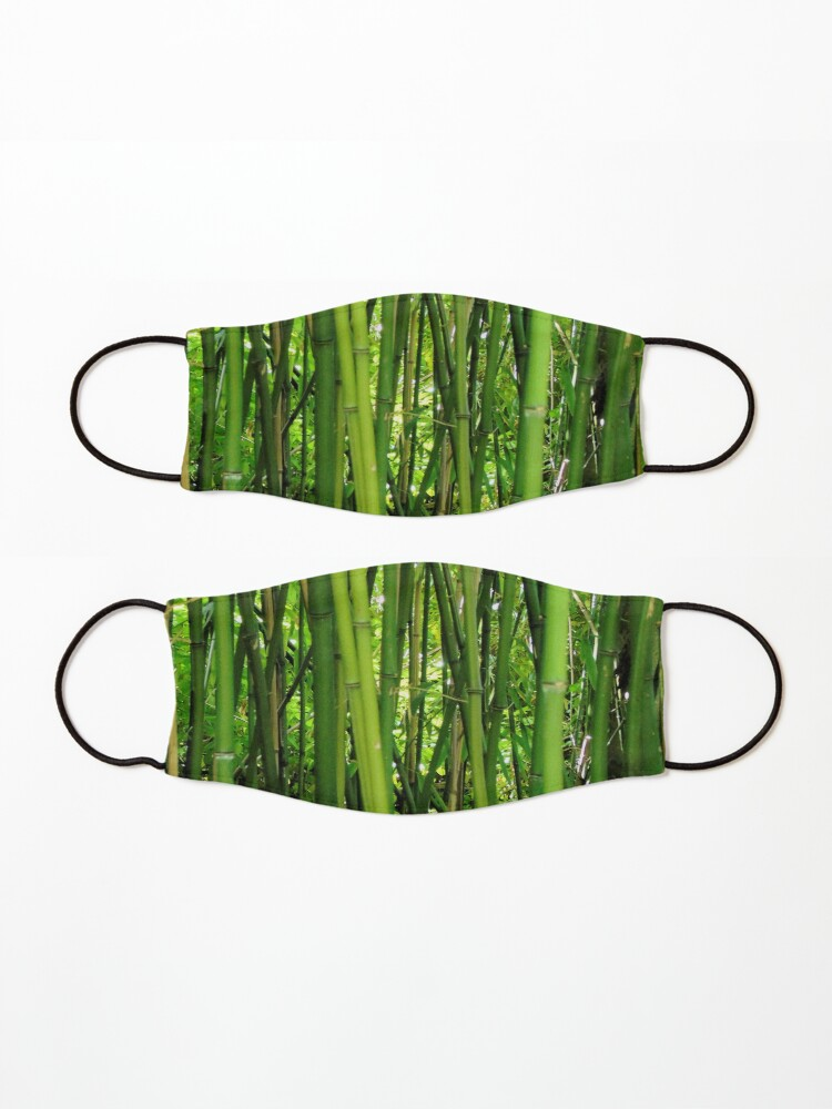 Alternate view of Bamboo Mask