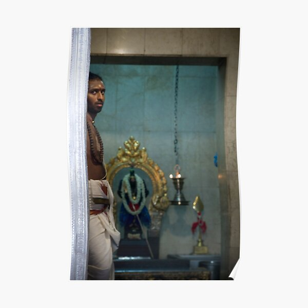 In the Hindu Temple Poster