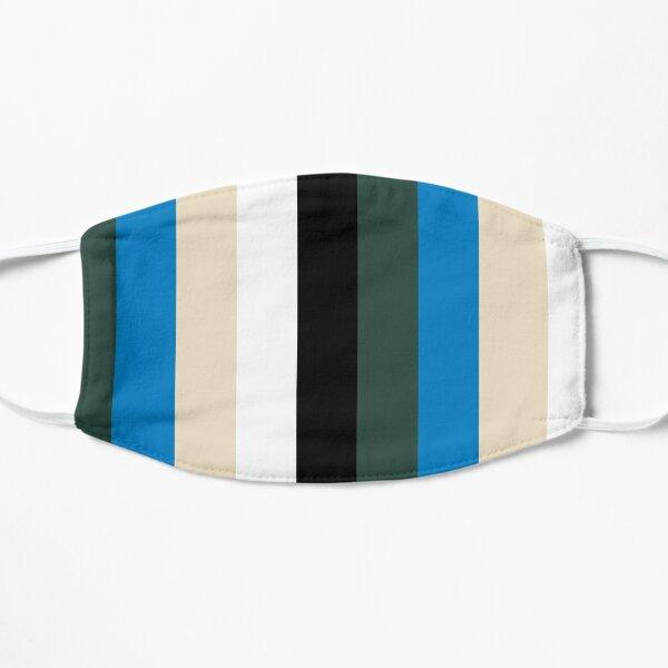 Cream City Rainbow Mask (Vertical) Flat Mask