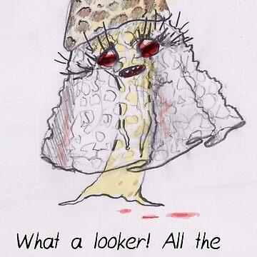 MBTI GHOST AND GHOULS- INFJ MUSHROOM GIRL LADY THING by samsketchbook