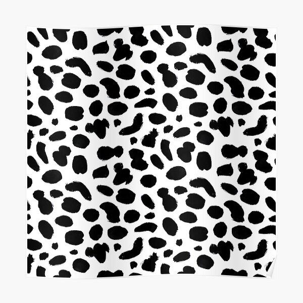 Dalmatian pattern Poster