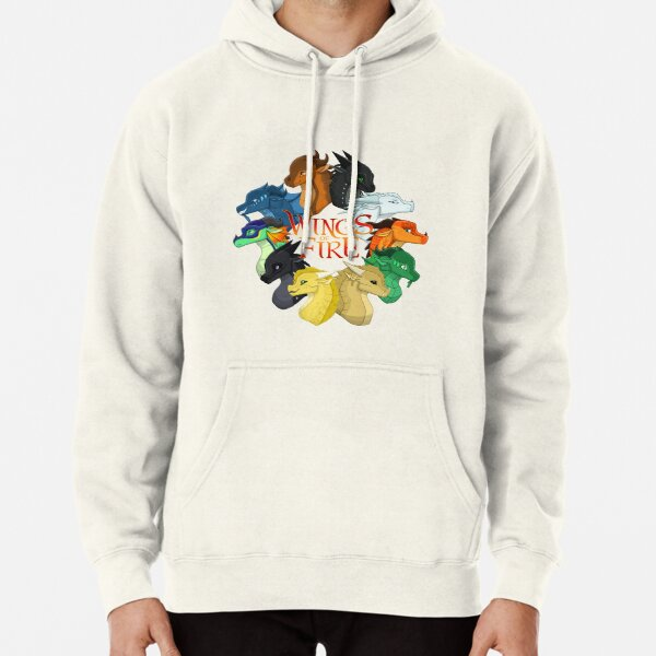 Wings of Fire Pullover Hoodie