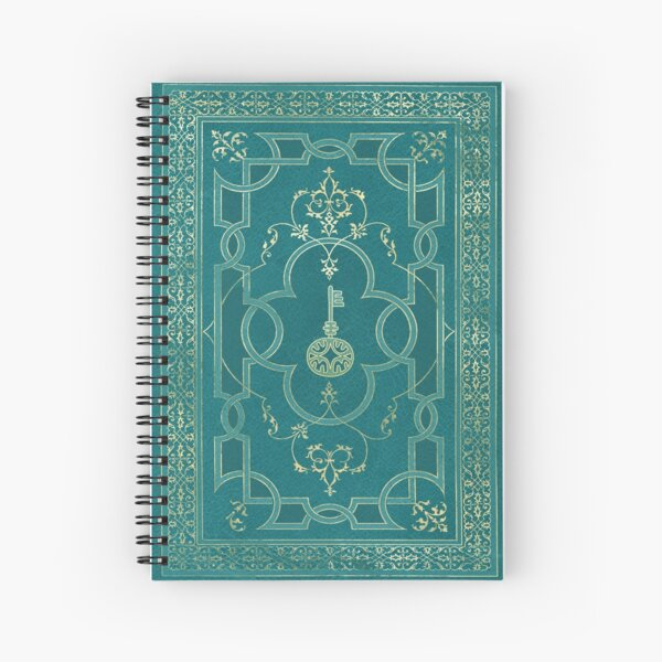 Old magic key grimoire Spiral Notebook