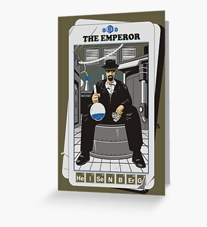 THE EMPEROR Greeting Card
