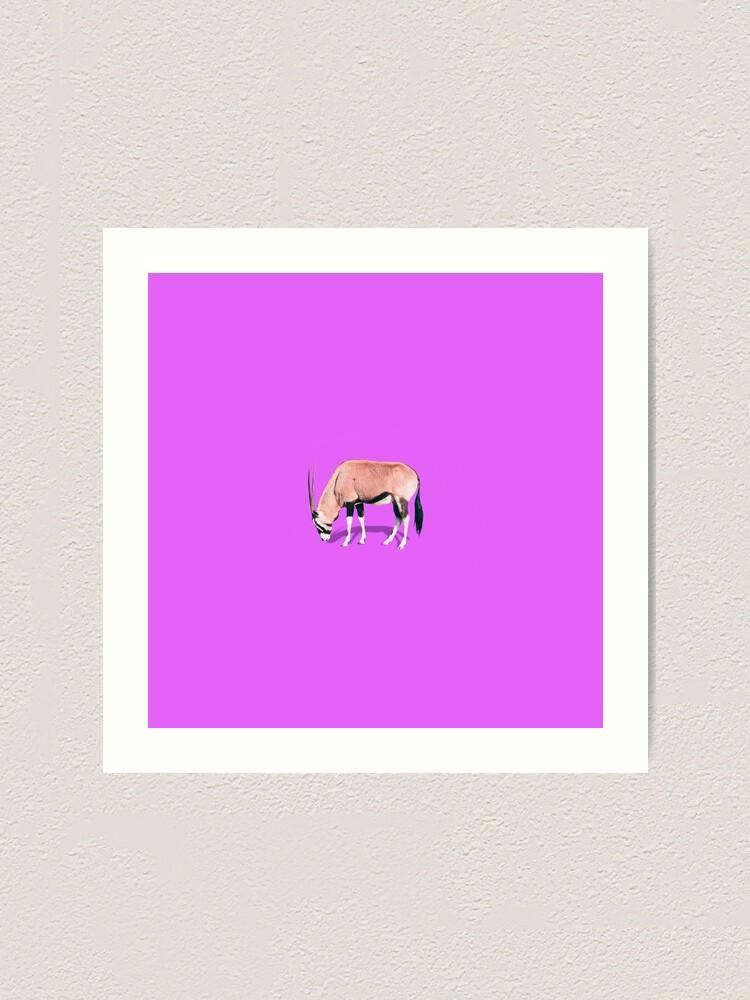 Alternate view of The wildebeest Art Print