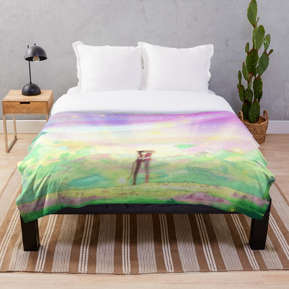 Catradora End Throw Blanket