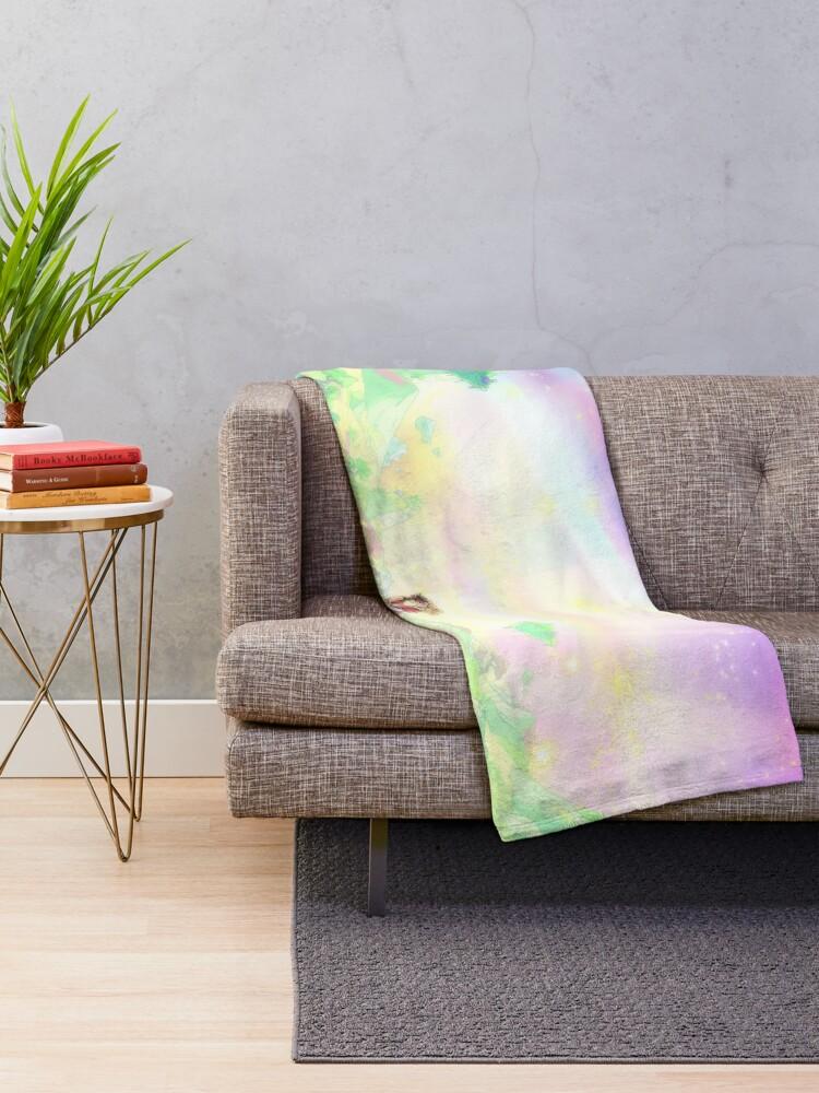 Alternate view of Catradora End Throw Blanket