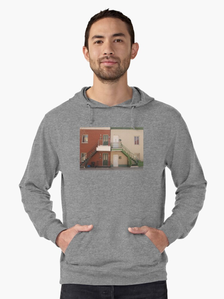 a dream place Lightweight Hoodie Front