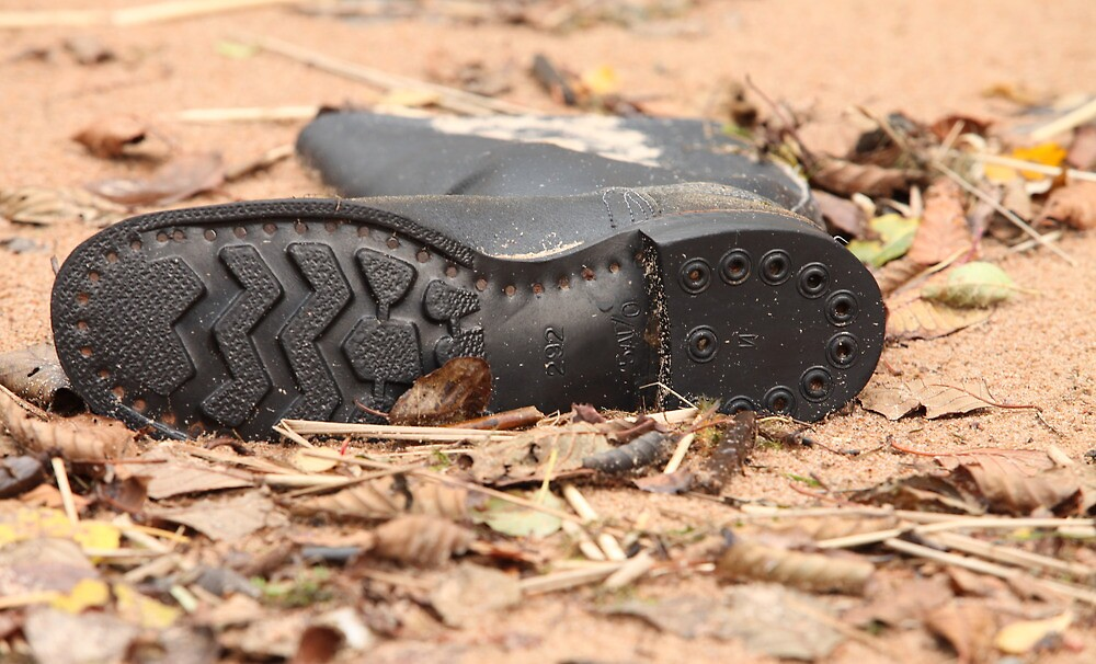 Soldier's tarpaulin boots by mrivserg