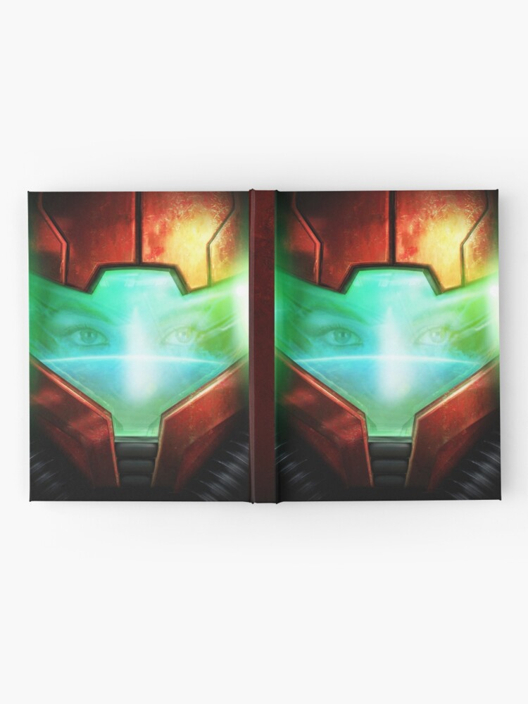 Vista alternativa de Cuaderno de tapa dura Metroid