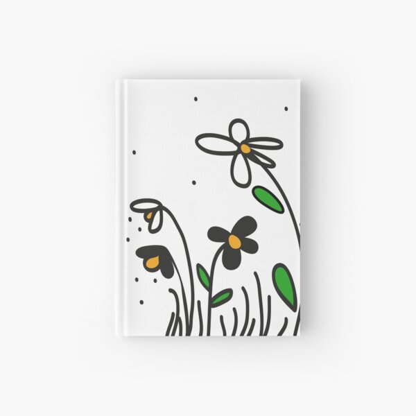 Daisy Doodles Hardcover Journal