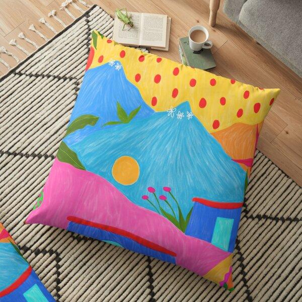 MOUNTAIN VILLAGE Floor Pillow