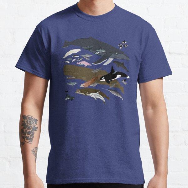 Ich bin dankbar für Wale Classic T-Shirt